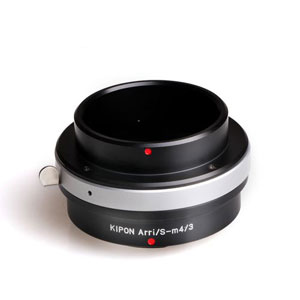 ARRI/S-M4/3 KIPON KIPON マウントアダプター ARRI/S-M4/3 (ボディ側:マイクロフォーサーズ/レンズ側:アリフレックス)
