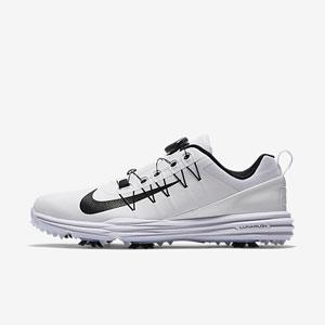 NK17S 849970-100 255 ナイキ メンズ・ゴルフシューズ ワイド(ホワイト/ホワイト/ブラック・25.5cm) Nike ナイキ ルナ コマンド 2 BOA
