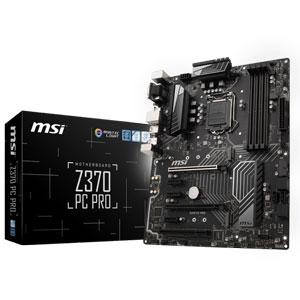 Z370 PC PRO MSI ATX対応マザーボード