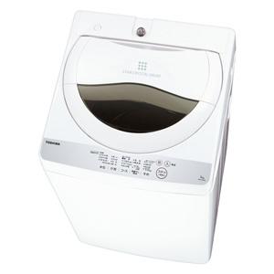 (標準設置料込)AW-5G6-W 東芝 5.0kg 全自動洗濯機 グランホワイト TOSHIBA