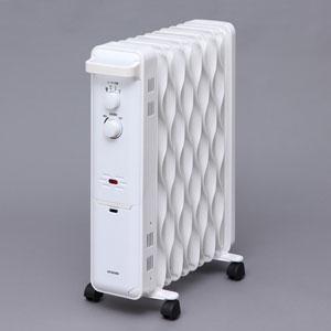 KWOH-120C-W アイリスオーヤマ オイルヒーター(8畳 ホワイト) 【暖房器具】IRIS OHYAMA
