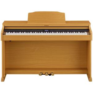 HP601-NBS ローランド 電子ピアノ(ナチュラルビーチ調仕上げ)【高低自在椅子&ヘッドホン&楽譜集付き】 Roland Digital Piano