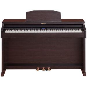 HP601-CRS ローランド 電子ピアノ(クラシックローズウッド調仕上げ)【高低自在椅子&ヘッドホン&楽譜集付き】 Roland Digital Piano