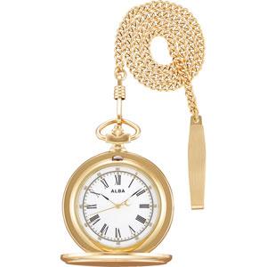AQGK450 アルバ ポケットウォッチ 提げ時計 懐中時計 [AQGK450]【返品種別A】