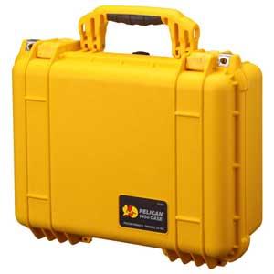 【各種クーポンあり。数上限ございます】1450HKYL ペリカン PELICAN(ペリカン)1450HK 中型防水ハードケース(イエロー)
