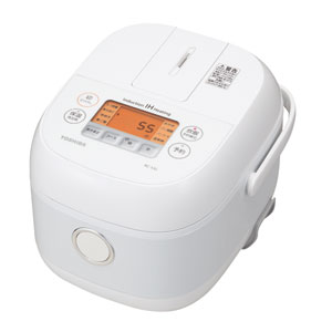 RC-5XL-W 東芝 IHジャー炊飯器(3合炊き) ホワイト TOSHIBA