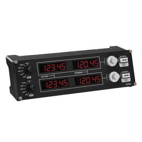 G-PF-RADP ロジクール プロ 無線操作 コックピット シミュレーション コントローラー Logicool FLIGHT RADIO PANEL