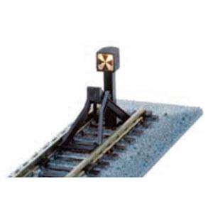 鉄道模型 カトー Nゲージ 直営ストア 20-064 66mm 車止め線路C (人気激安) 標識灯点灯仕様