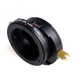 SHIFT MD-EOSM KIPON KIPON マウントアダプター SHIFT MD-EOS M (ボディ側:キヤノンEF-M/レンズ側:ミノルタMD・MC SR)