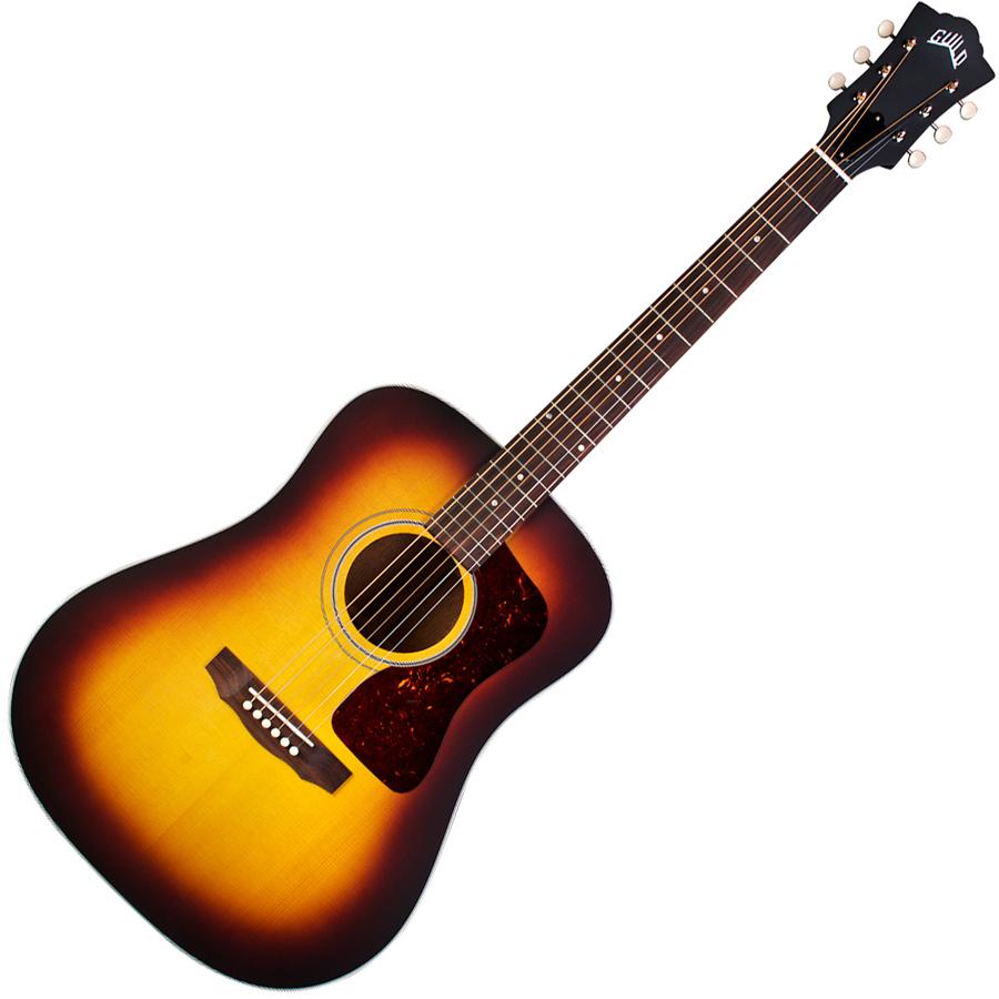 D-40 ATB(キクタニ) ギルド アコースティックギター(アンティークサンバースト) GUILD USA