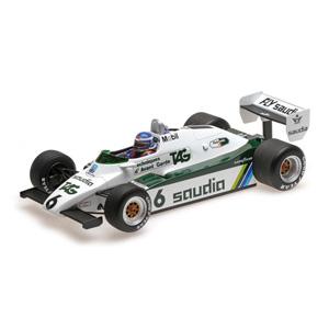 1/18 ウィリアムズ フォード FW08 K.ロズベルグ 1982 ワールドチャンピオン【117820006】 ミニチャンプス