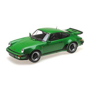 ポルシェ 1/12 911 ミニチャンプス ターボ(1977)グリーンメタリック【125066102】