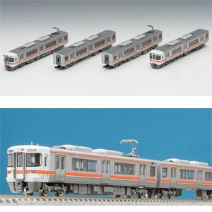 [鉄道模型]トミックス (Nゲージ) 98228 JR 313 0系近郊電車 基本セット(4両)