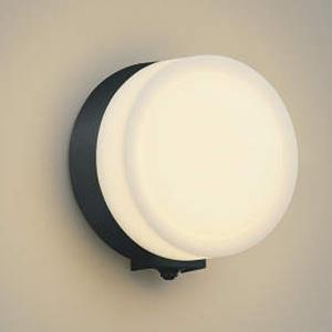 AU38132L コイズミ LEDポーチライト(黒色)【要電気工事】 KOIZUMI