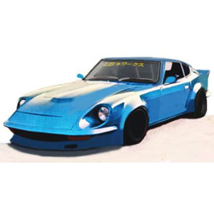 1/18 LB-WORKS Fairlady Z (S30) Light Blue【IG1101】 ignitionモデル