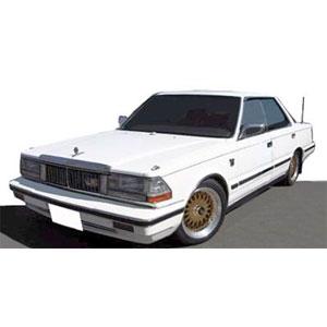 1/43 Nissan Cedric (Y30)4Door Hardtop Brougham VIP White ※BB-Wheel【IG1303】 ignitionモデル
