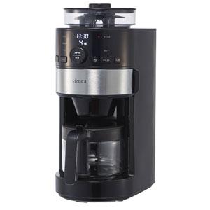 SC-C111(K/SS) シロカ コーン式全自動コーヒーメーカー siroca