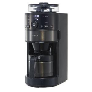 SC-C121(K/KT) シロカ コーン式全自動コーヒーメーカー siroca