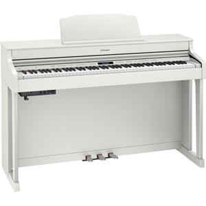 HP603-AWHS ローランド 電子ピアノ(ホワイト)【高低自在椅子&ヘッドホン&楽譜集付き】 Roland Digital Piano