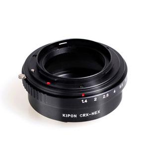 CRX-S/E KIPON KIPON マウントアダプター CRX-S/E (ボディ側:ソニーE/レンズ側:コンタレックス)