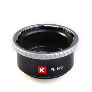 PL-S/E PRO KIPON KIPON マウントアダプター PL-S/E PRO (ボディ側:ソニーE/レンズ側:PL)
