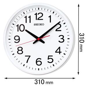 KX236W セイコークロック 電波掛け時計 教室の時計 [KX236W]【返品種別A】