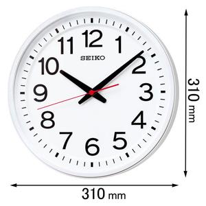 GP219W セイコークロック GPS電波掛け時計 GPS衛星電波時計 教室の時計 [GP219W]【返品種別A】