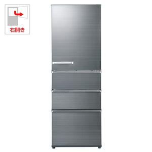 AQR-SV36G-S アクア 355L 4ドア冷蔵庫(チタニウムシルバー)【右開き】 AQUA SVシリーズ