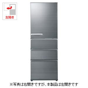 AQR-SV36GL-S アクア 355L 4ドア冷蔵庫(チタニウムシルバー)【左開き】 AQUA SVシリーズ