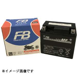 FTZ6V 古河電池 バイク用バッテリー 【電解液注入・充電済】【他商品との同時購入不可】