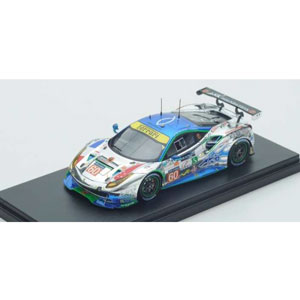 1/43 Ferrari 488 GTE No.60 Clearwater Racing Le Mans 2017【LSLM071】 LOOKSMART