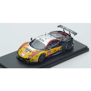 1/43 Ferrari 488 GTE No.84 JMW Motorsport Winner LM GTE Am Le Mans 2017【LSLM076】 LOOKSMART