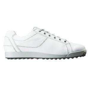 54045W255 フットジョイ メンズ・スパイクレス・ゴルフシューズ(ホワイト・25.5cm) Contour Casual #54045