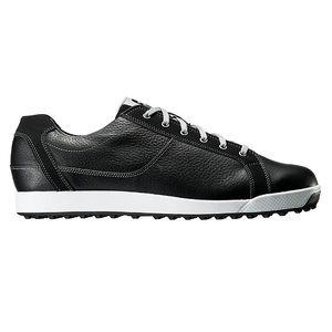 54047W245 フットジョイ メンズ・スパイクレス・ゴルフシューズ(ブラック・24.5cm) Contour Casual #54047