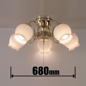 GEM-6921 キシマ LEDシャンデリア【カチット式】 KISHIMA