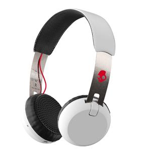 S5GBW-J472 スカルキャンディ Bluetooth対応開放型ヘッドホン(ホワイト) SkullCandy Grind WIRELESS