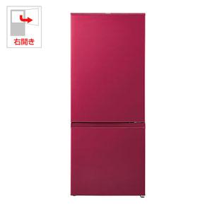 (標準設置料込)AQR-18G-R アクア 184L 2ドア冷蔵庫(ルージュ)【右開き】 AQUA andSmart