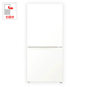 (標準設置料込)AQR-16G-W アクア 157L 2ドア冷蔵庫(ミルク)【右開き】 AQUA
