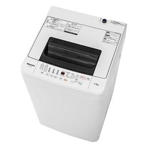 (標準設置料込)HW-T45C ハイセンス 4.5kg 全自動洗濯機 Hisense