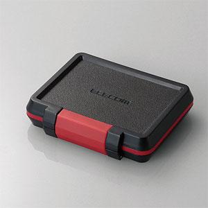 CMC-SDCHD01BK エレコム SD/microSDカードケース (耐衝撃/ブラック)