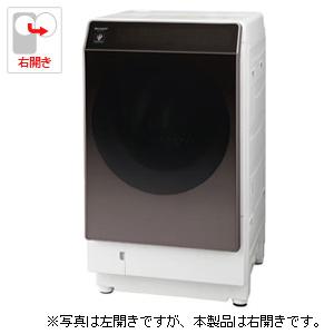 (標準設置料込)ES-G110-TR シャープ 11.0kg ドラム式洗濯乾燥機【右開き】ブラウン系 SHARP