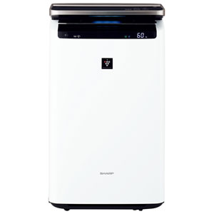 KI-HP100-W シャープ 加湿空気清浄機(空清46畳まで/加湿26畳まで ホワイト系) SHARP 「高濃度プラズマクラスターNEXT」搭載【送料無料】