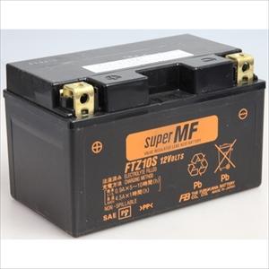 FTZ10S 古河電池 バイク用バッテリー【電解液注入・充電済】【他商品との同時購入不可】