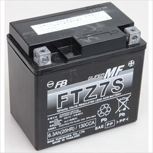 FTZ7S 古河電池 バイク用バッテリー【電解液注入・充電済】【他商品との同時購入不可】