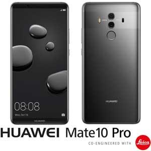 【500円クーポン10/11am1:59迄】MATE10PRO/GRAY HUAWEI HUAWEI Mate 10 Pro (チタニアムグレー) 「AIプロセッサー内蔵、新世代スマートフォン」6.0インチ SIMフリースマートフォン