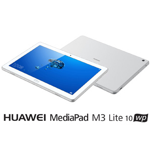 HDN-W09(M3LITE10WP) HUAWEI 10.1型タブレットパソコン 「HUAWEI MediaPad M3 Lite 10 wp」 シルバー※Wi-Fiモデル
