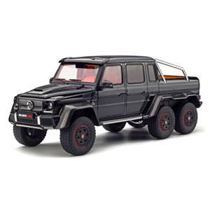 1/18 ブラバス 700 6x6(ブラック)【GTS199】 GTスピリット