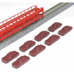 鉄道模型 カトー Nゲージ 23-510 8台入 2020新作 ク5000積載用カバー付自動車 本物◆