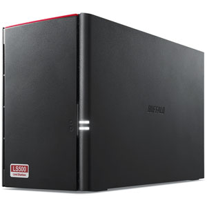 LS520D0802 バッファロー ネットワーク対応ハードディスク 8.0TB(4.0TB×2) リンクステーション(RAID 0/1対応)