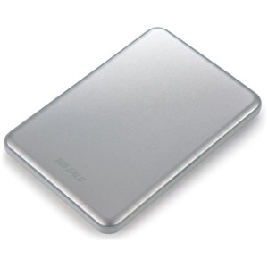 HD-PUS2.0U3-SC バッファロー USB3.0対応 ポータブルハードディスク 2.0TB(シルバー) HD-PUSU3-Cシリーズ